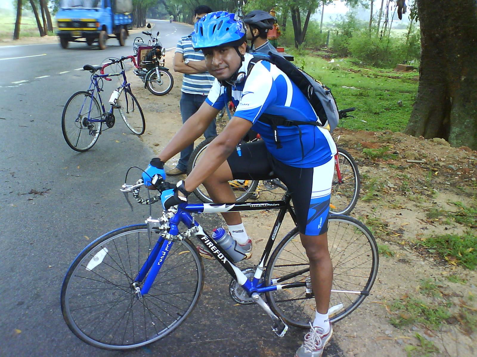Cycling Rajanakunte Village