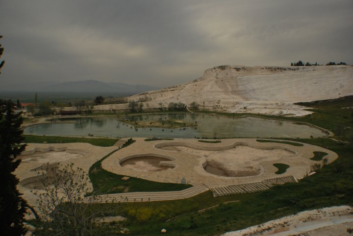 Travertines at Pamukkale