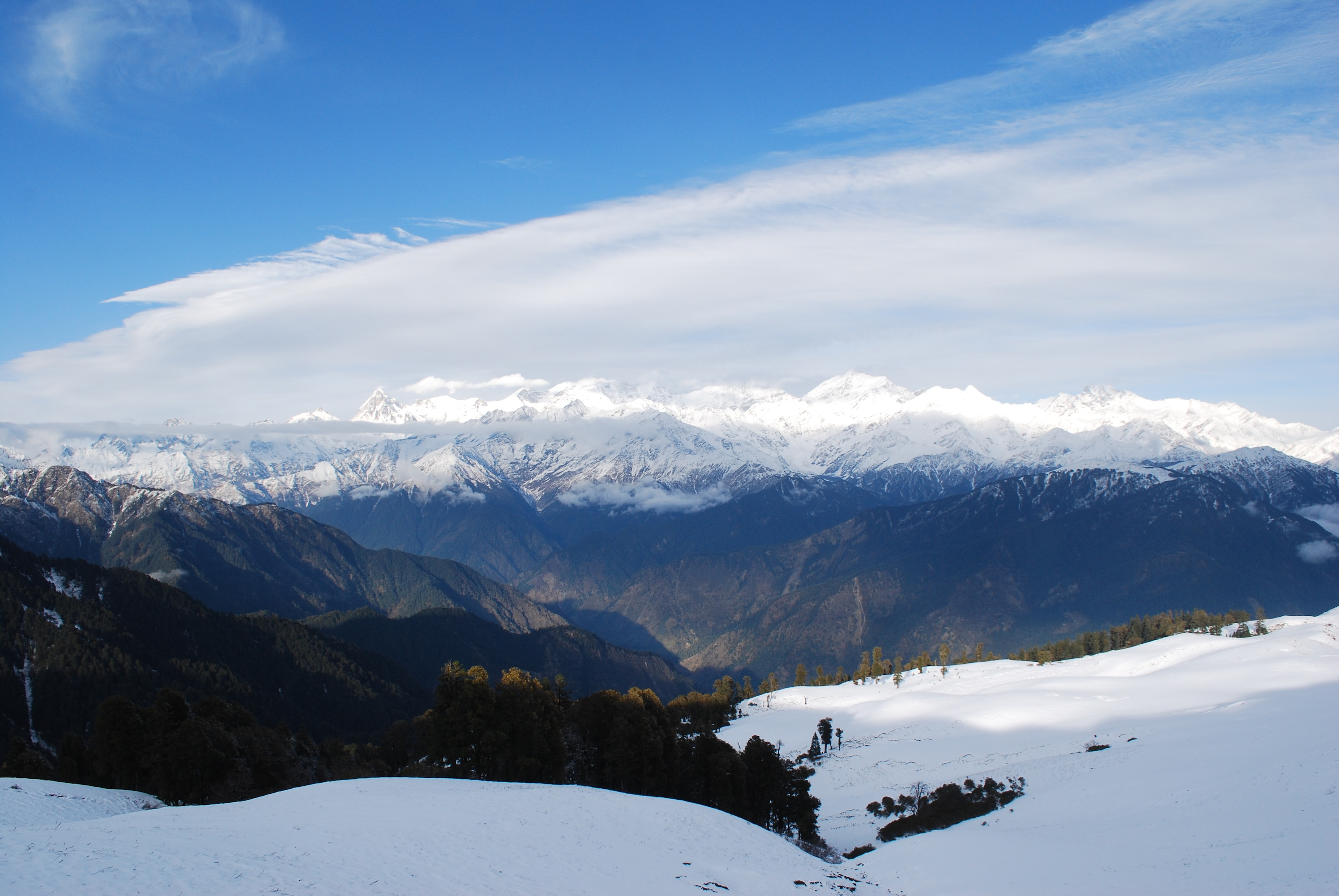 View from Dayara Bugyal - Heavenly
