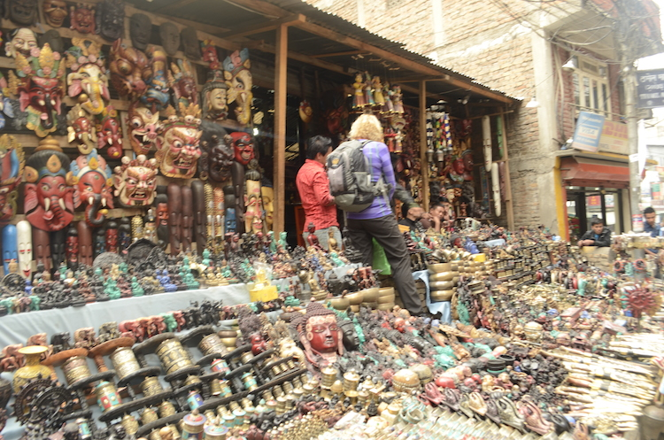 Handicraft Hawker at Thamel