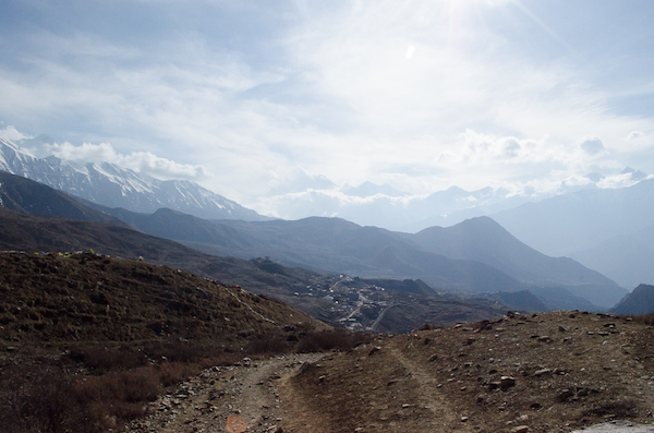 Towards Muktinath