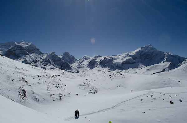 On the way to Thorung La Pass