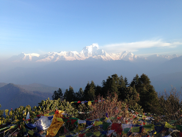 Dhaulagiri Range as seen from Poon Hill