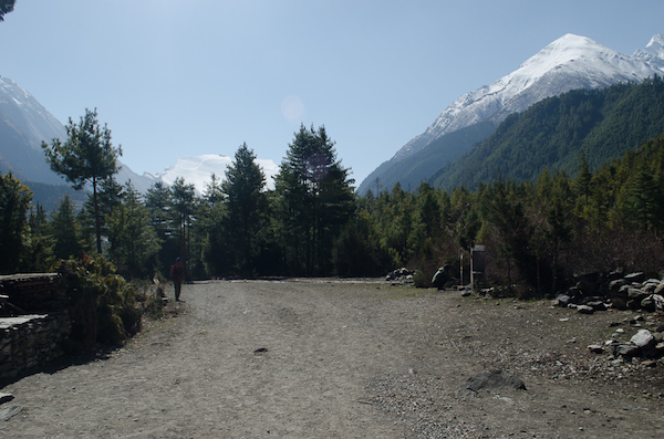 Path to Manang