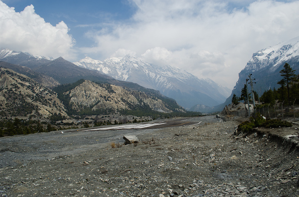 The Runway on the way to Manang