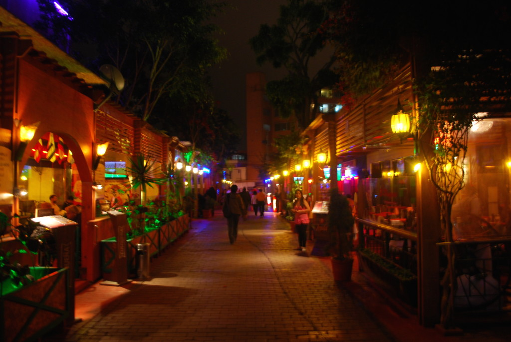 Restaurants and nightlife near Miraflores Lima