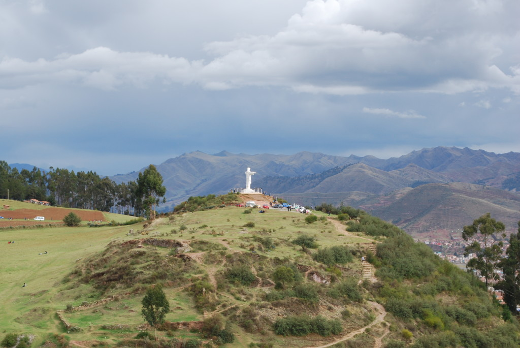View from Sacsayhuamán
