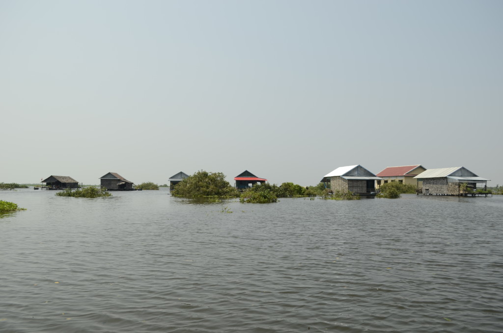 Floating Village on Tonie Sap Lake
