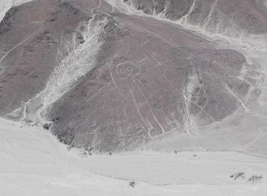 Astronaut at Nazca lines