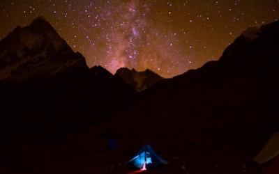 Milky Way at Meru Base Camp_Rustik Travel