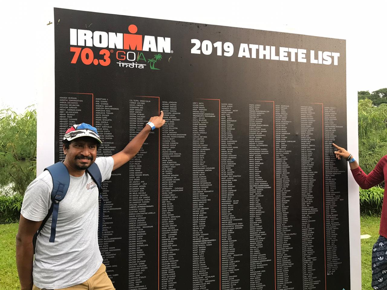 Athlete list_Goa Ironman