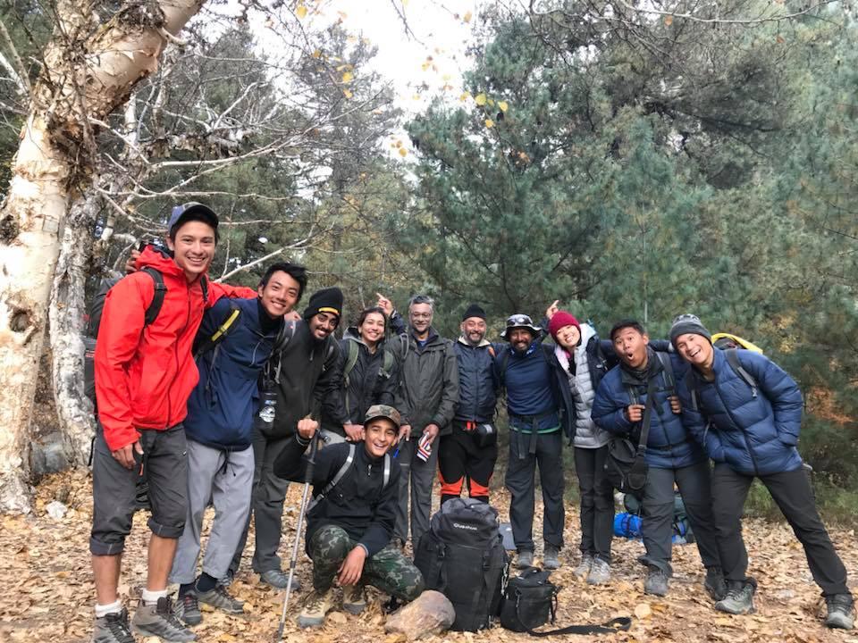Team_Meru Base Camp_Rustik Travel