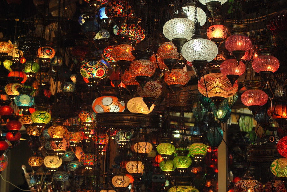 Lamps at Grand Bazaar