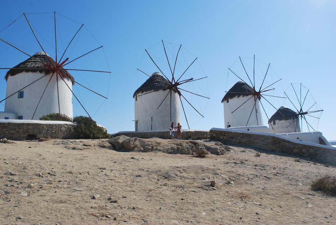 Mykonos - Windmills