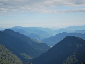 View from Tsokha