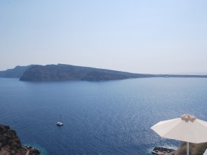 View of the caldera from Oia