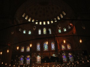 Blue Mosque from Inside