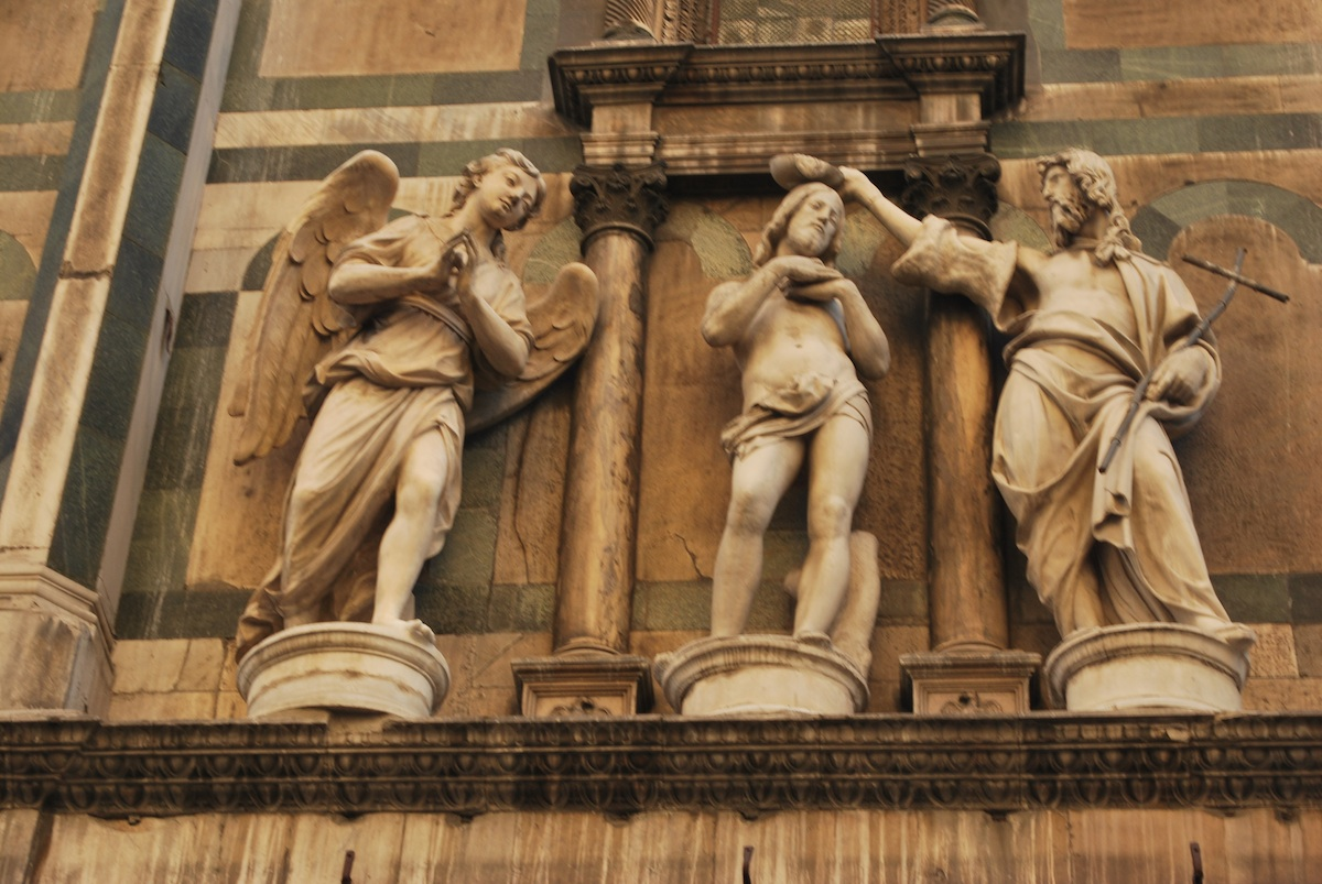 Sculptures in Florence