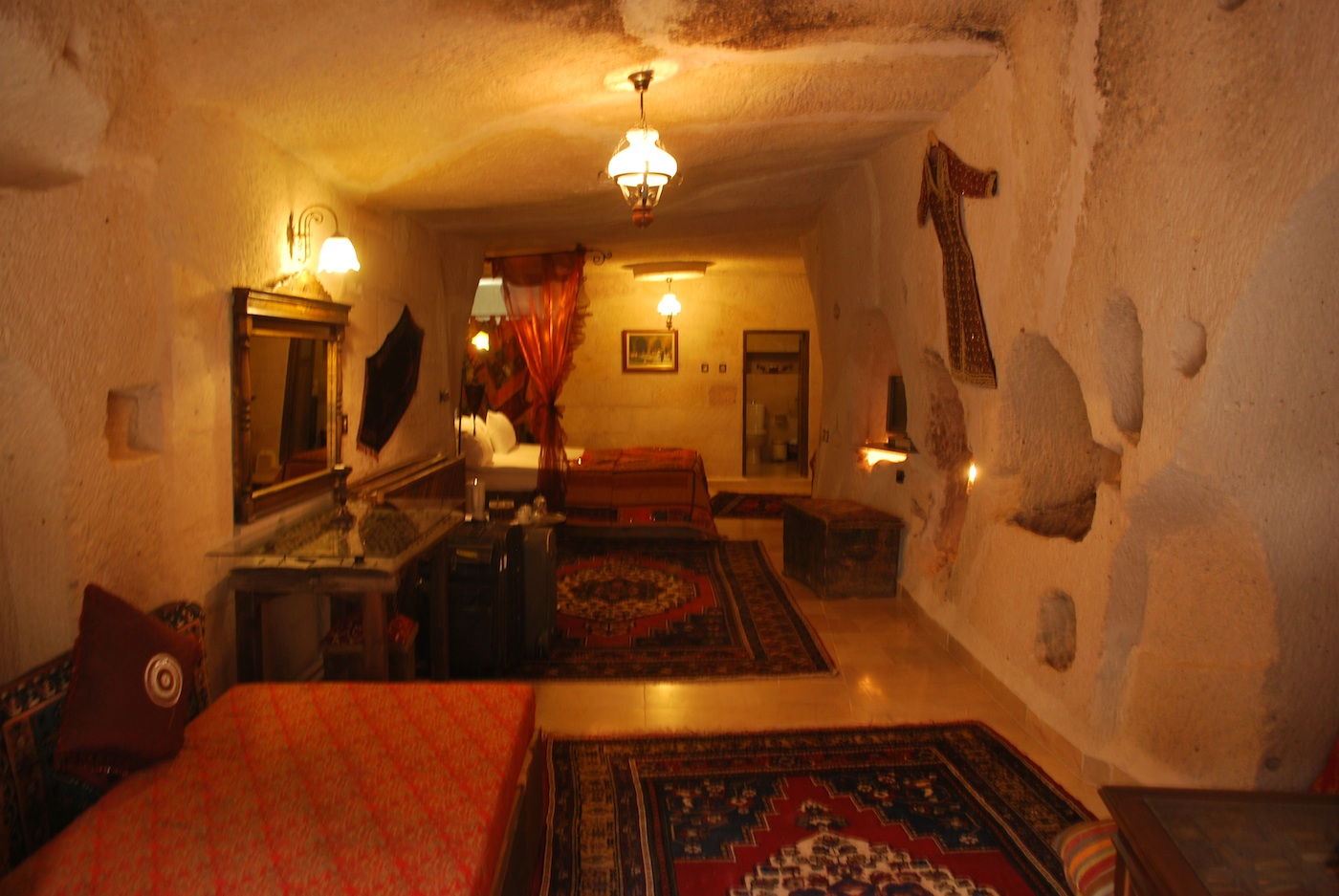 A room in Gamirasu Cave Hotel