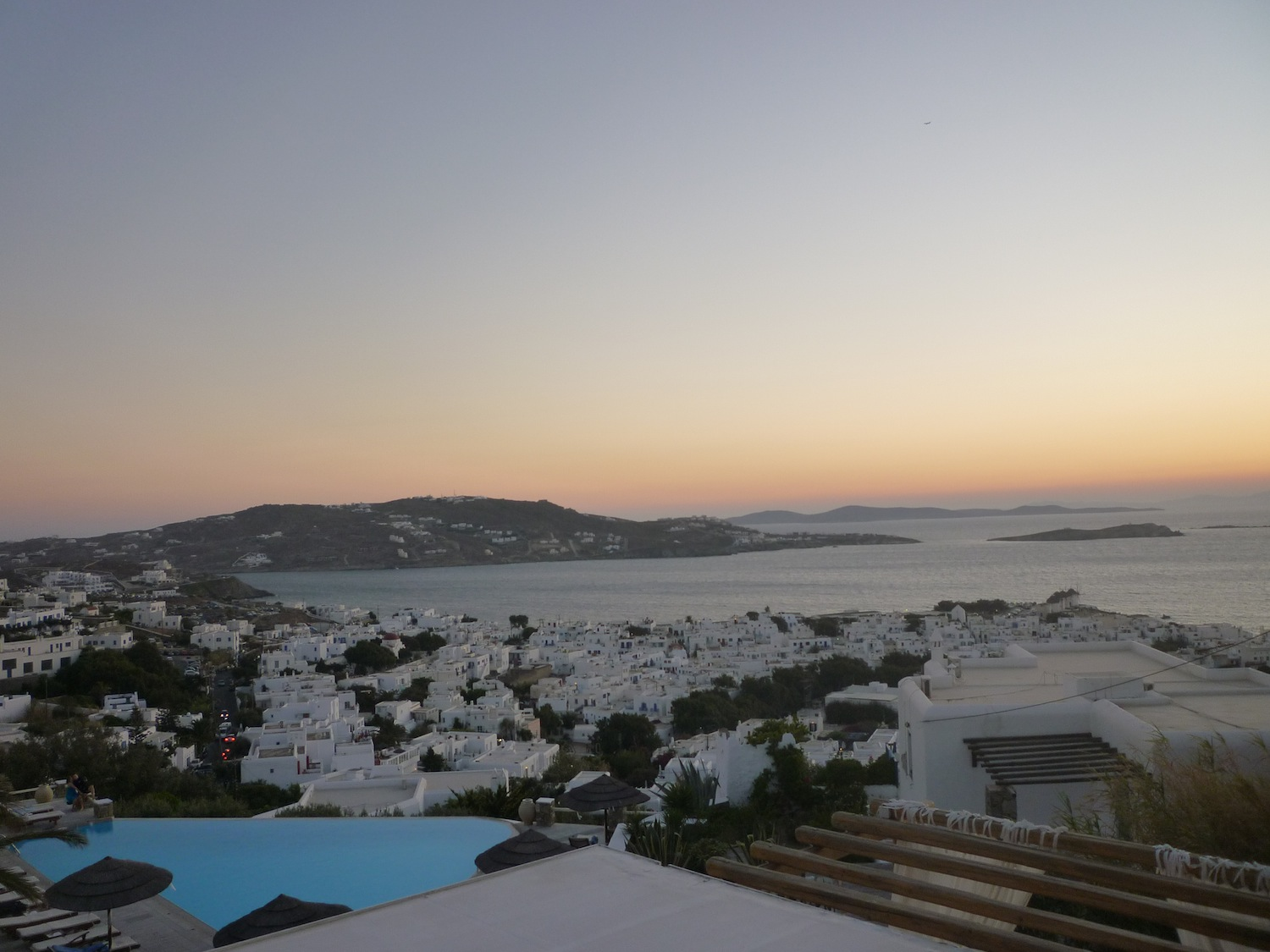 Before the sunset in Mykonos