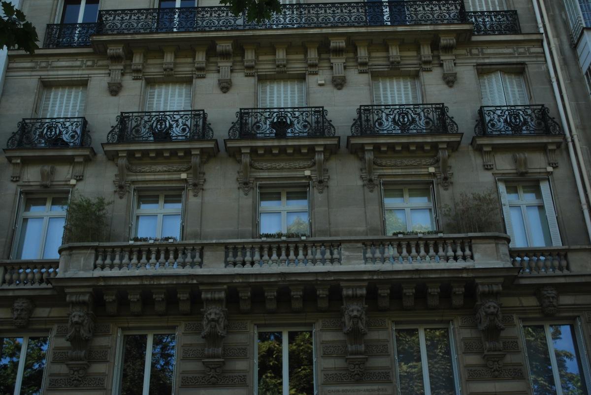 Classic balconies