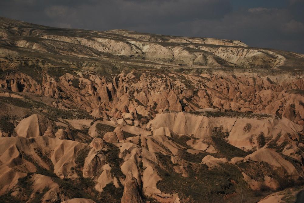 Surreal Landscape in Cappadocia
