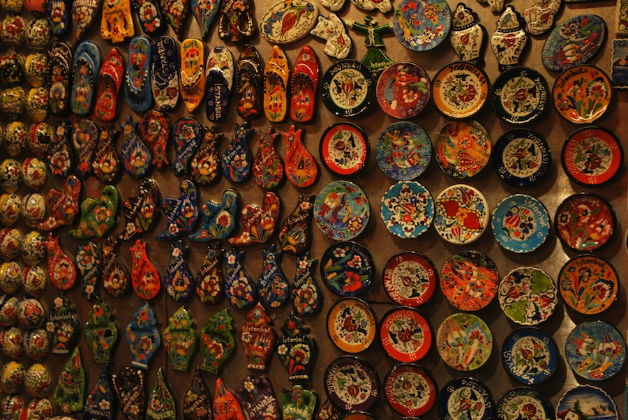 Display at Grand Bazaar