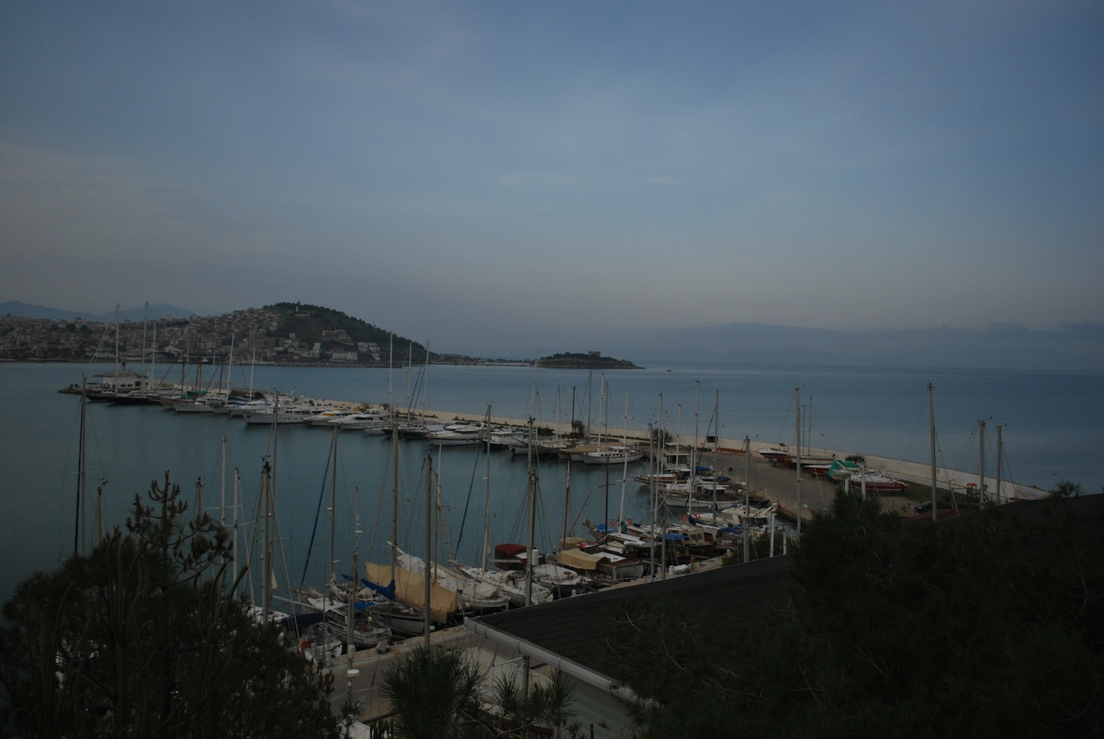 Aegean Sea - View in the morning