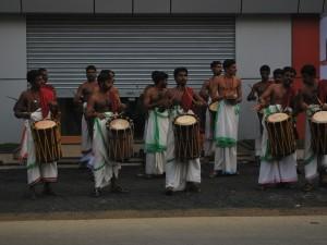 Drumming around