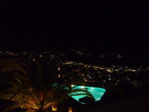 Mykonos after the sunset