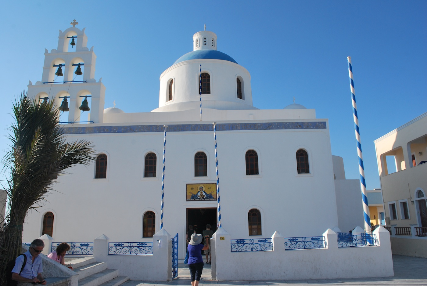 Santorini - Church in Oia