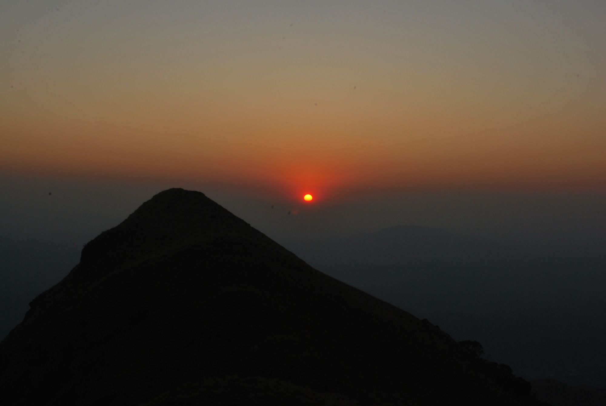 Sunset at Kumara Parvatha