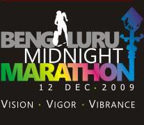 Bangalore Midnight Marathon 2009
