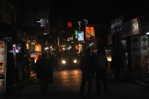 Thamel in Night