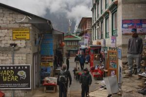 Marketplace at Namche
