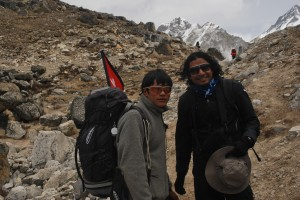 With Karma Sherpa