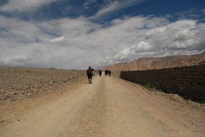 The long and dusty road