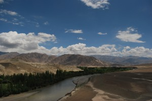The mighty Indus River