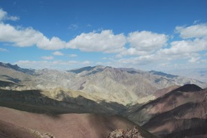 View from the top of Stok la