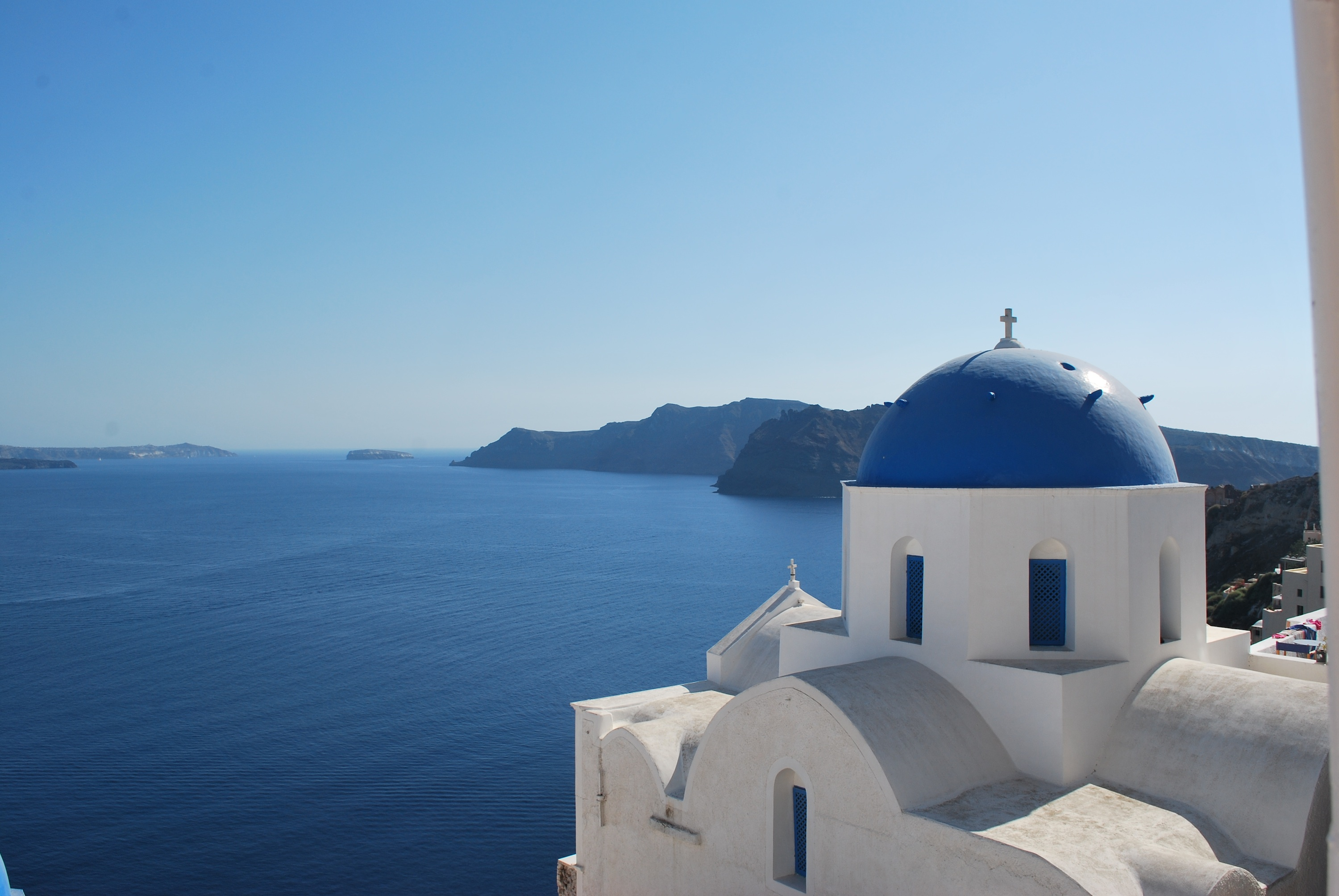 Just beautiful (view from Oia)